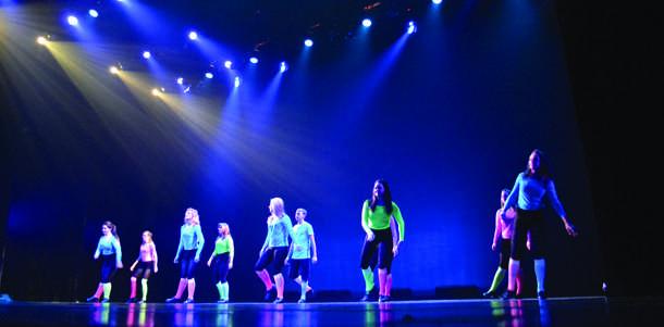 Photo%3A+Dance+Ensemble+taps+in+neon+colors