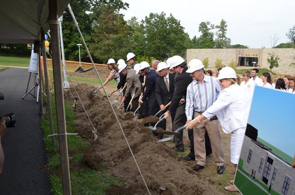 Dig this: nursing building underway