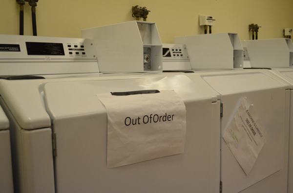 Laundry wars tumbling out of control