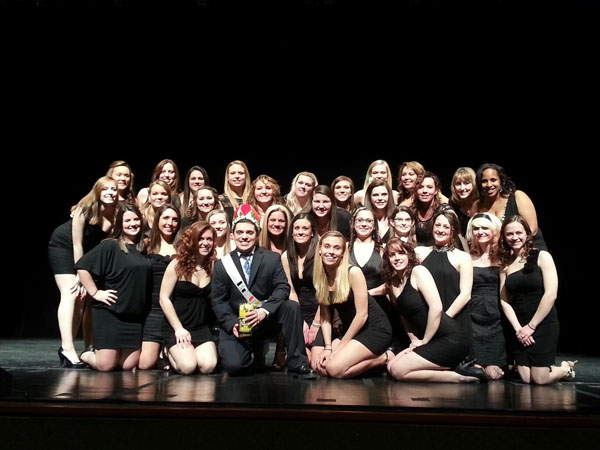 Mr. UPJ can roll, sing and dance