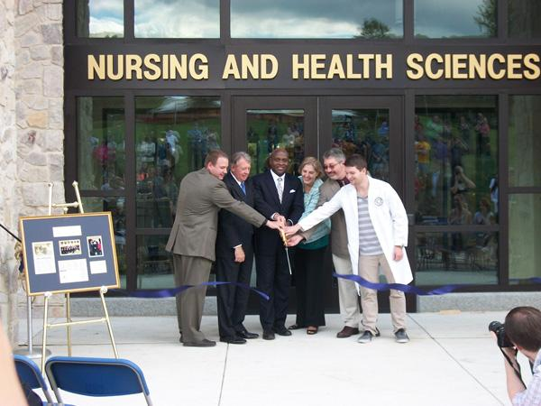 Nursing building opens