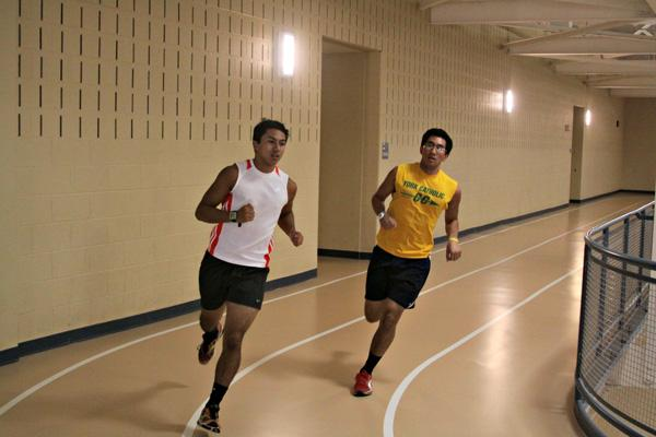 Brothers tighten bonds by running
