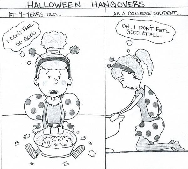 Olsavsky- Halloween Hangover