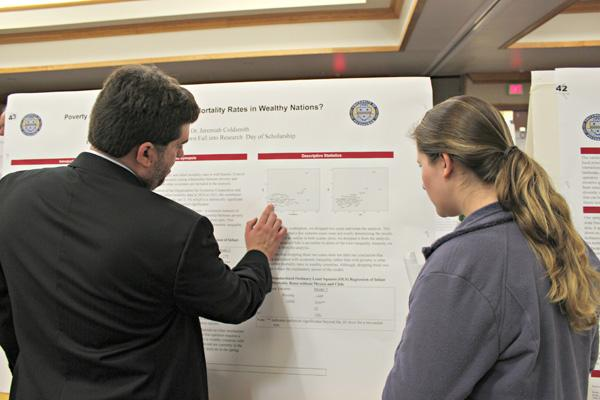 Fall into Research showcases success