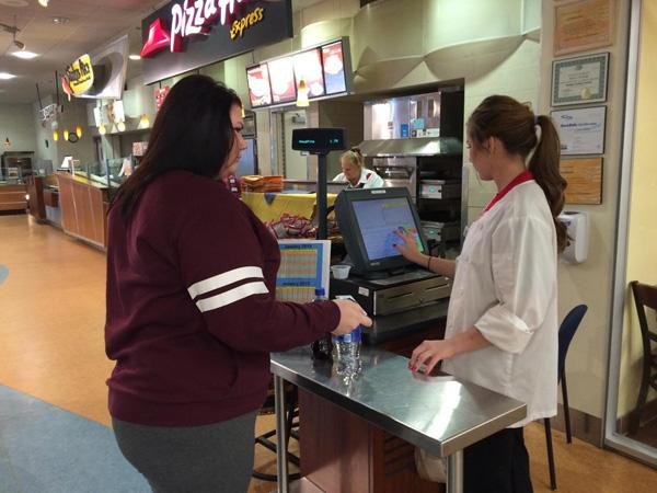 Sodexo employees now offer delivery services