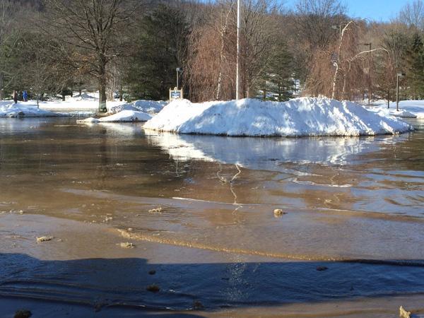 A dry Bradford cancels classes