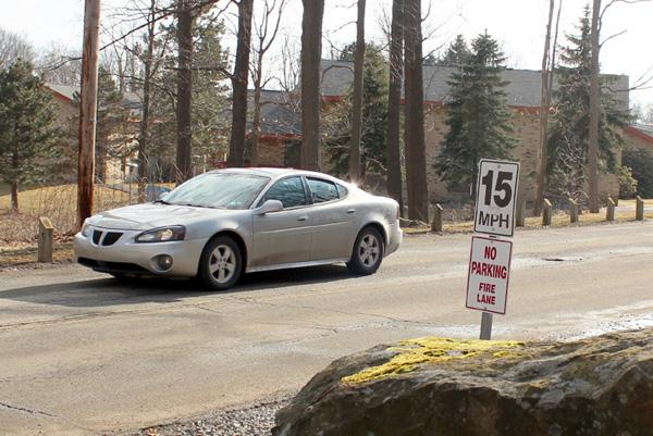Limits, holes bedevil campus area drivers