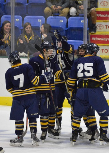 The Icecats have scored at least five goals in their last five games as of Nov. 6.