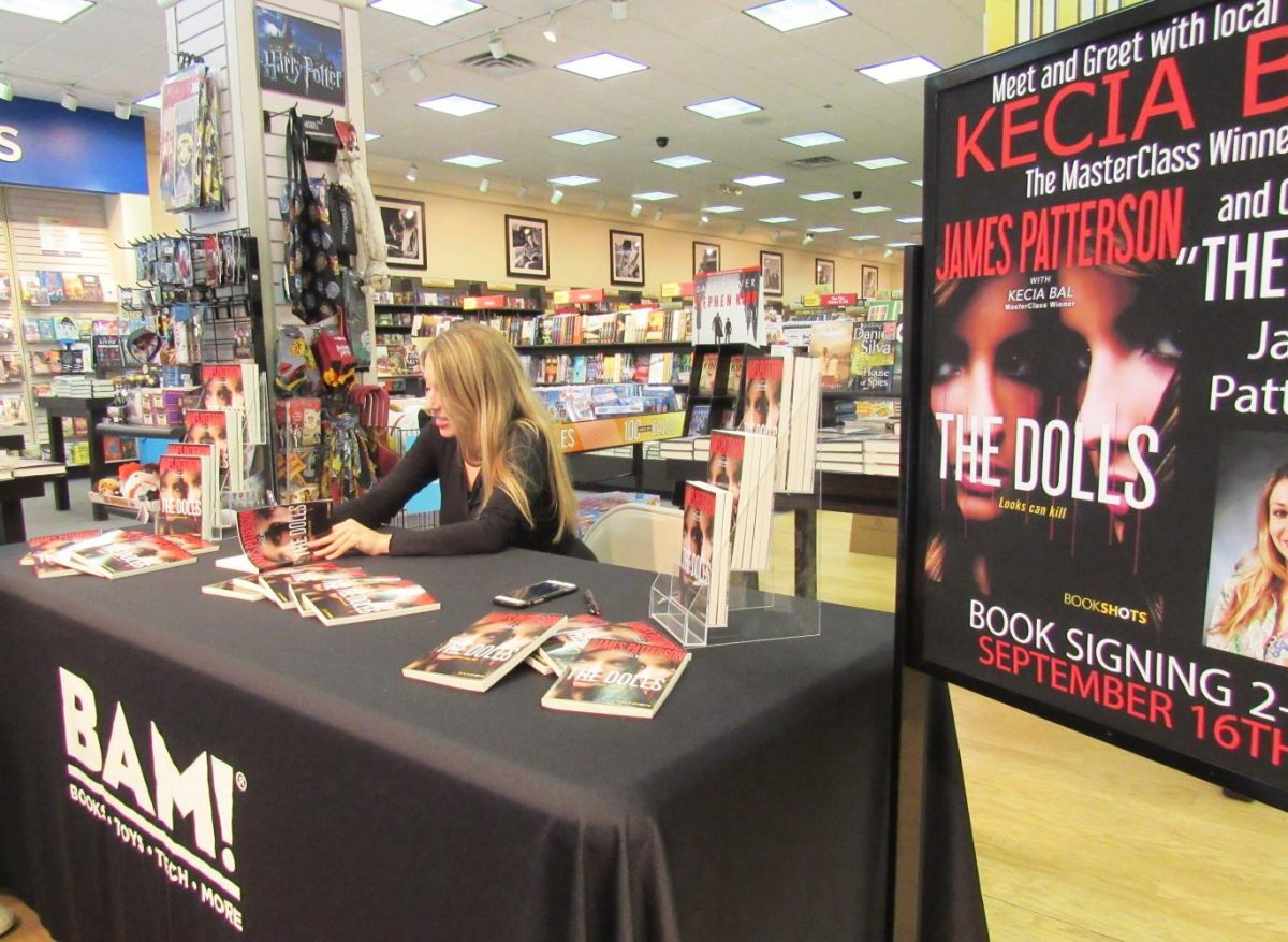 The Johnstown Galleria Books-A-Million staff hosted Kecia Bal Sept. 16 for a book signing. Bal is a Pitt-Johnstown journalism graduate and lives in Somerset.