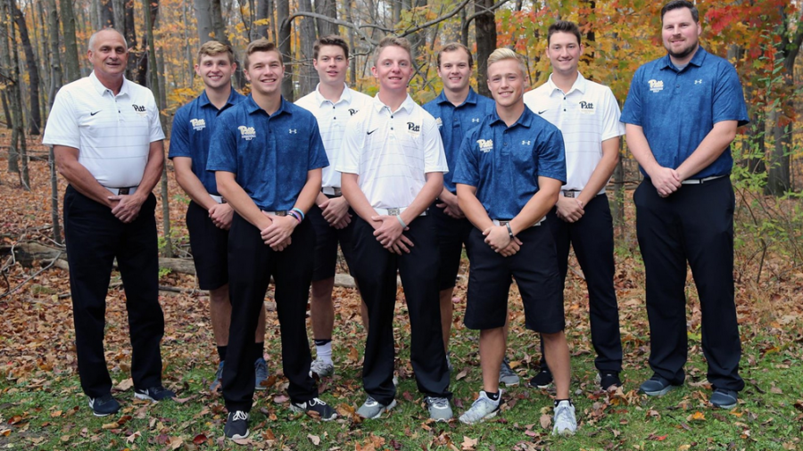 The Pitt-Johnstown golf team finished 8th in the conference tournament Oct. 20 that was held at Hershey Park East Course in Dauphin County.