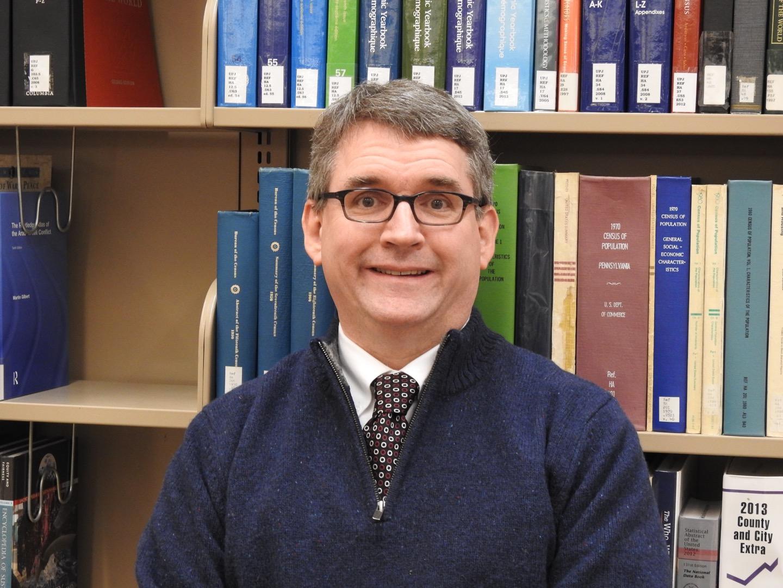 Peter Egler is Owen Library's new director.