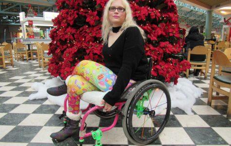 Wheelchair woman to battle ignorance
