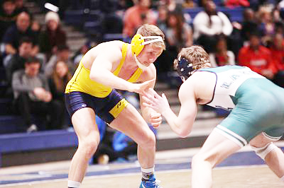 Senior wrestler Cody Law said that he communicates with professors before missing exams due to wrestling.