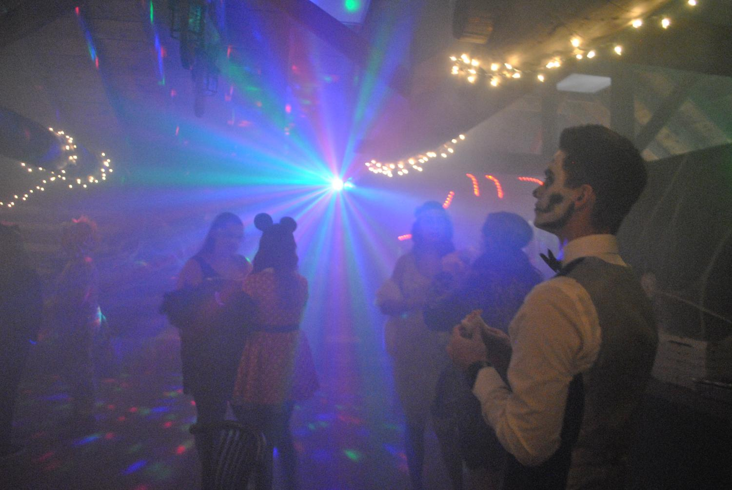 A Programming Board-sponored party was held Friday in the Log Cabin, which is not accessible to disabled people.