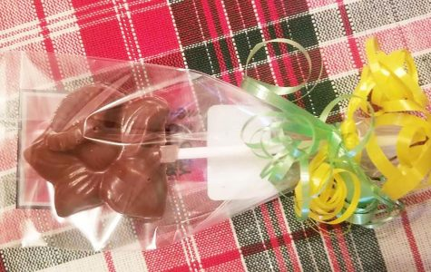An O'Shea's chocolate daffodil can be purchased for $1 as part of the Daffodil Days fundraiser.   Photo courtesy of Jenn Kush