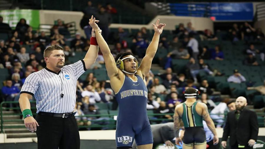 Chris+Eddins+won+his+second+national+championship+in+149-pound+class+March+9+in+Cleveland.