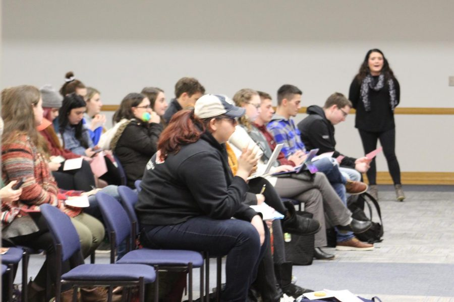 Student organization members attended a budgeting process meeting Jan. 26.