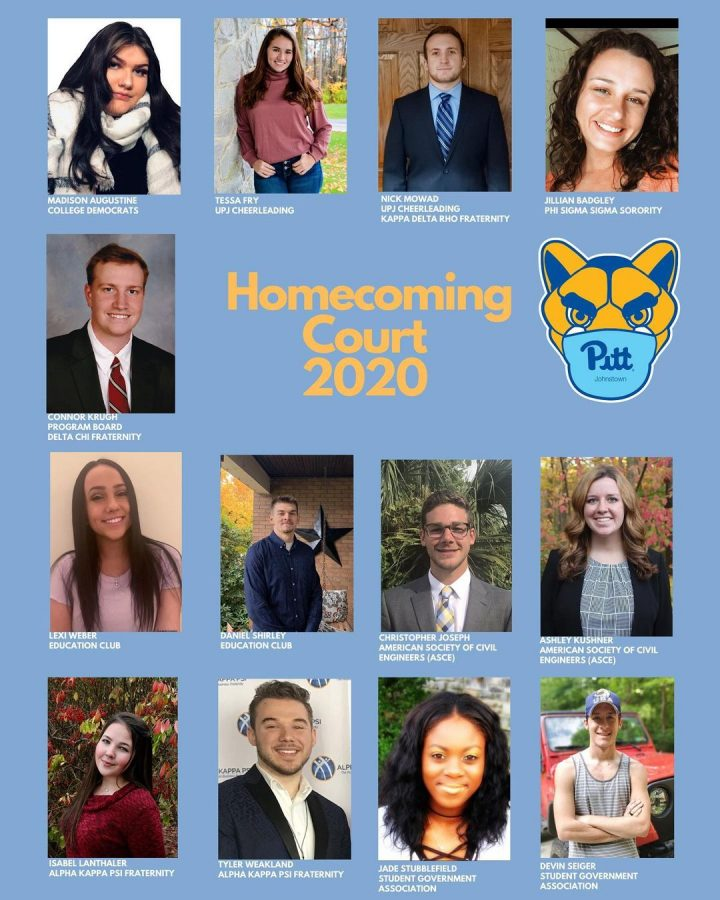 The 2020 Homecoming Court King and Queen coronation is to take place virtually on Friday.